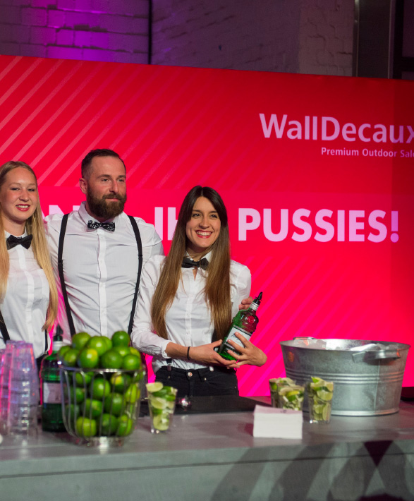 WallDecaux - Gin & Tonic Bar @ ADC 2016
