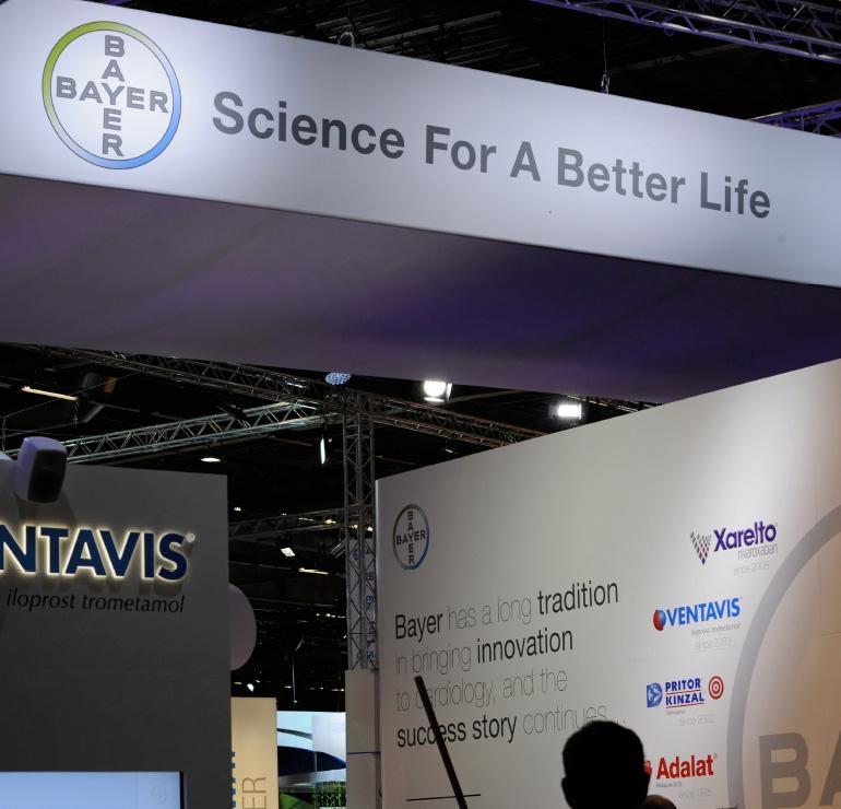 Bayer Pharma AG - Kongressteilnahme Primary Care Brands