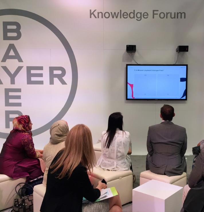 Bayer Pharma AG - Kongressteilnahme Women's HealthCare