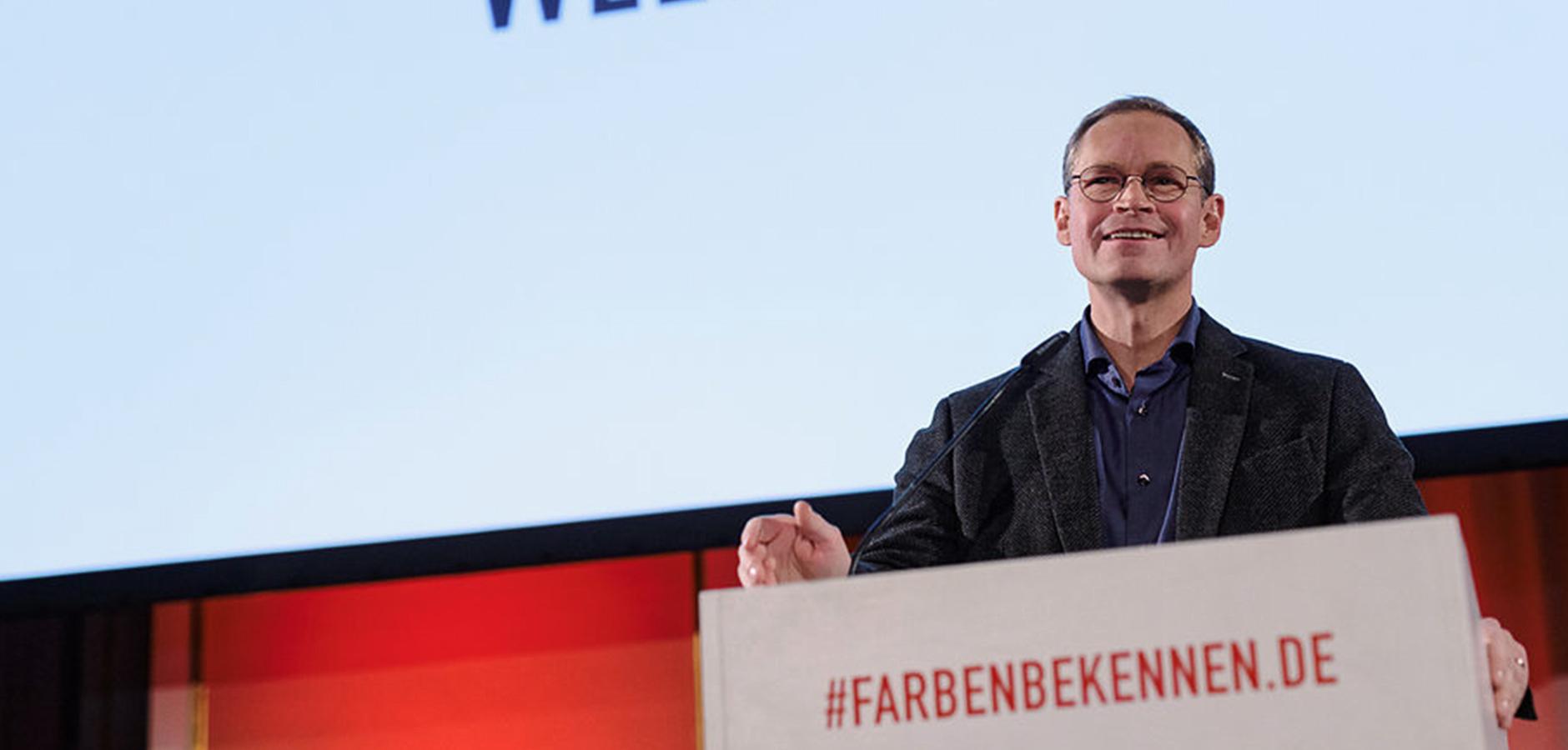 be Berlin: Berlin Partner - #farbenbekennen - Weihnachtsfest