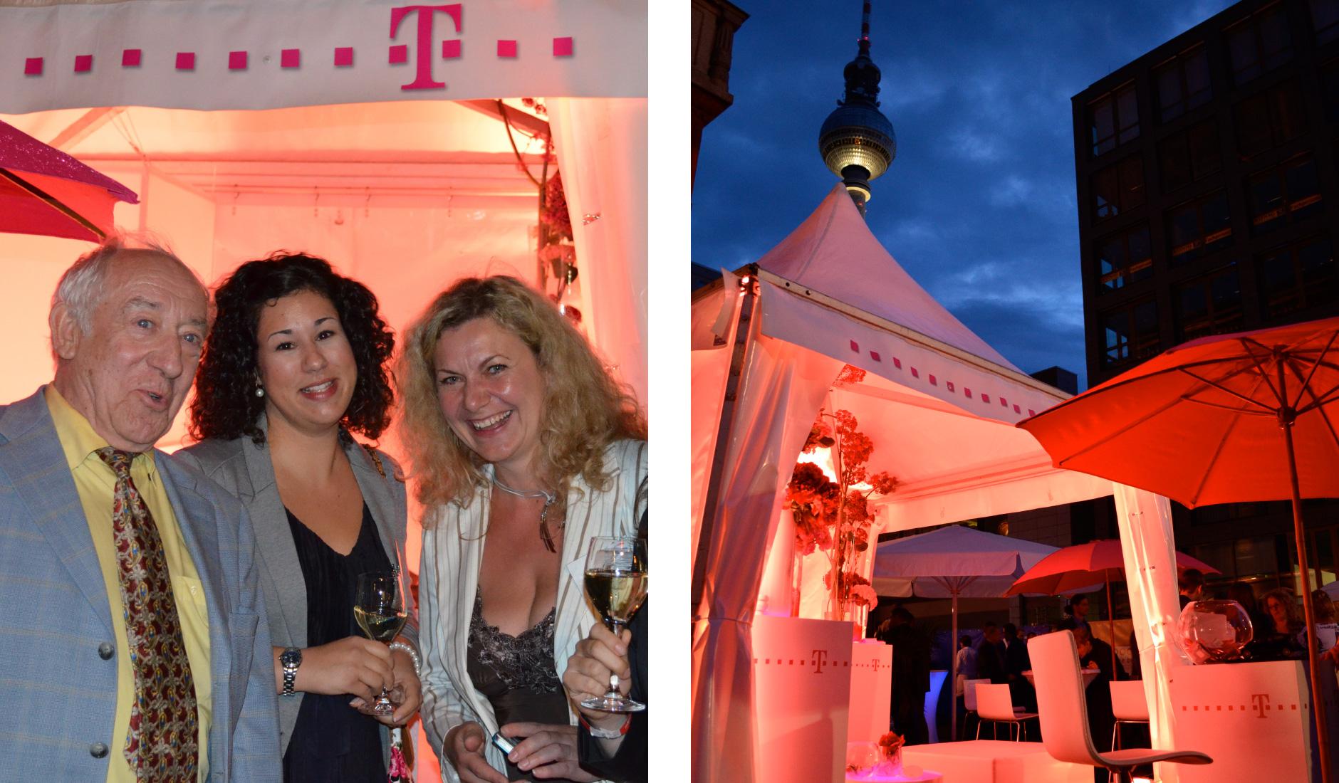 Deutsche Telekom AG - Pavillion beim Hoffest