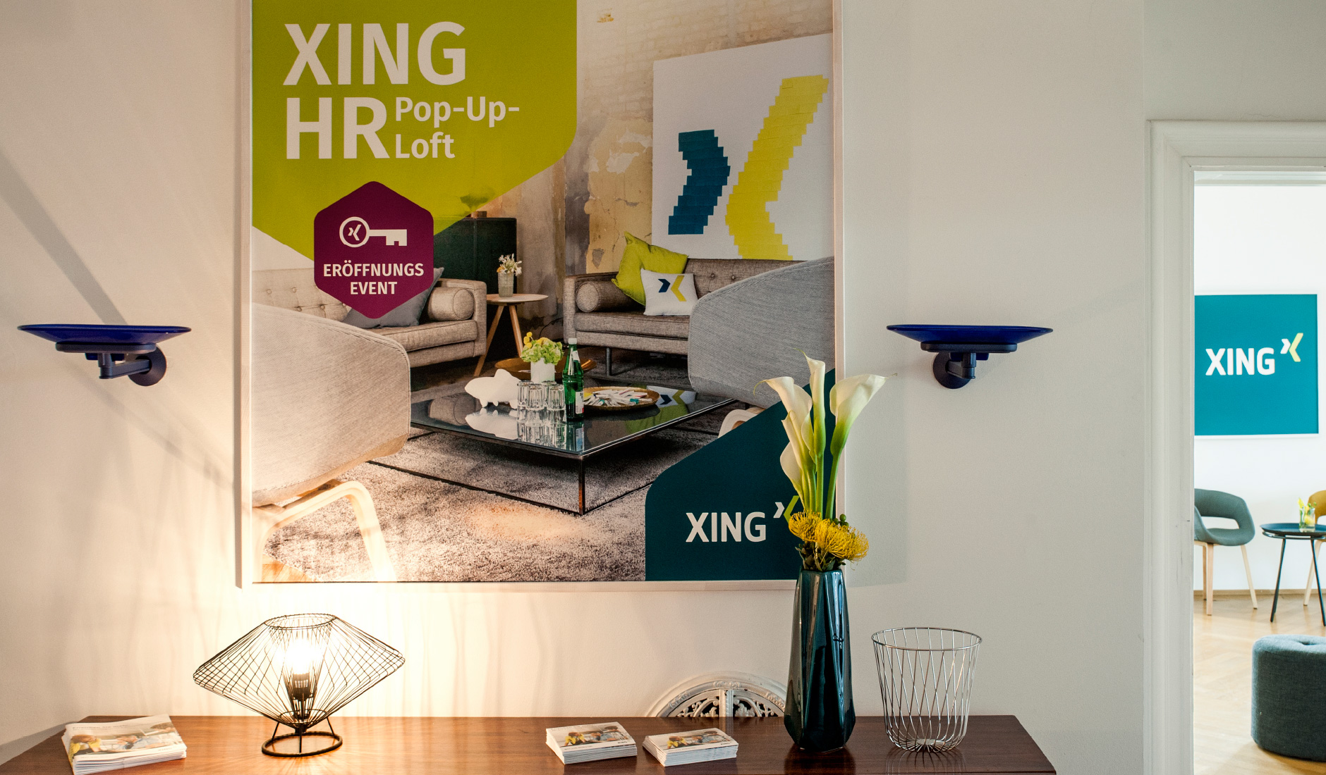 Xing AG - HR Pop-Up Loft