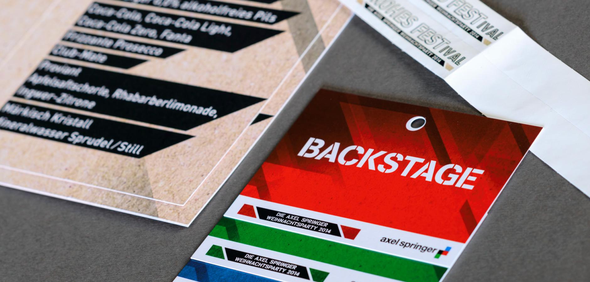 Axel Springer SE - Entwicklung Keyvisual & Event Branding