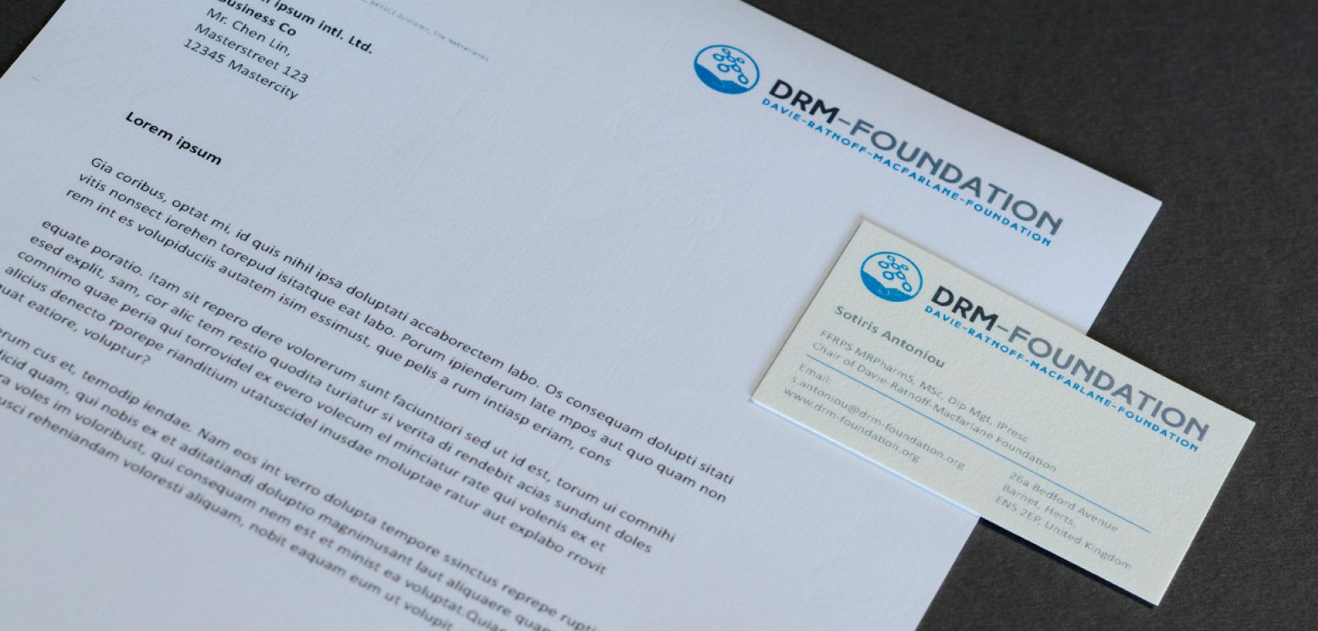DRM-Foundation - Corporate Design