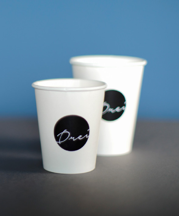 Café Drei - Corporate Design