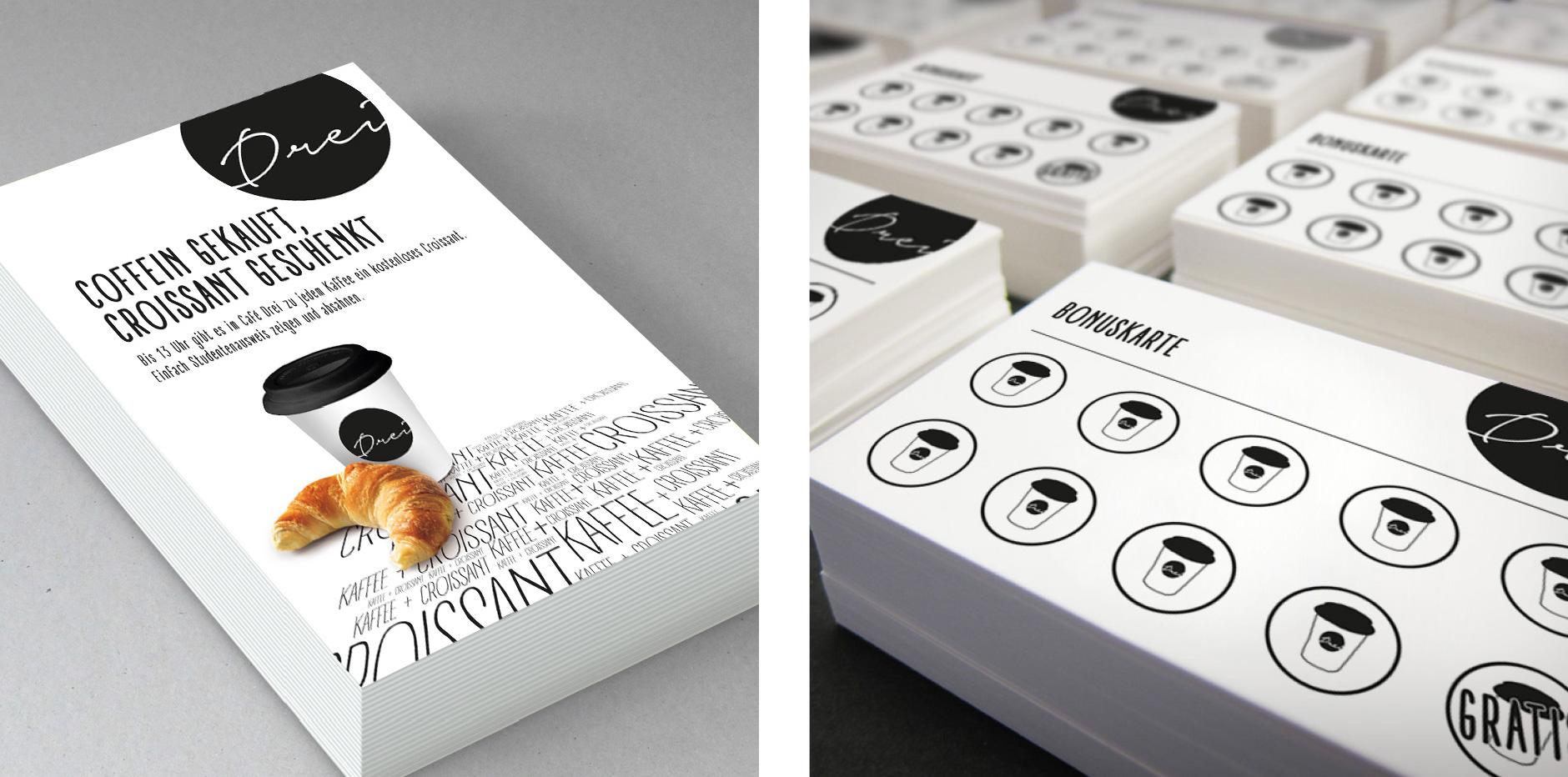 Cafe Drei - Corporate Design