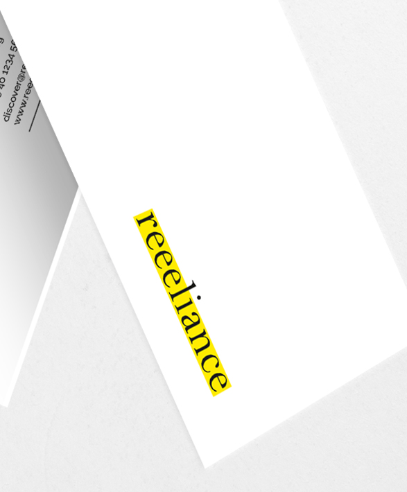 Reeeliance Brand Building Corporate Design