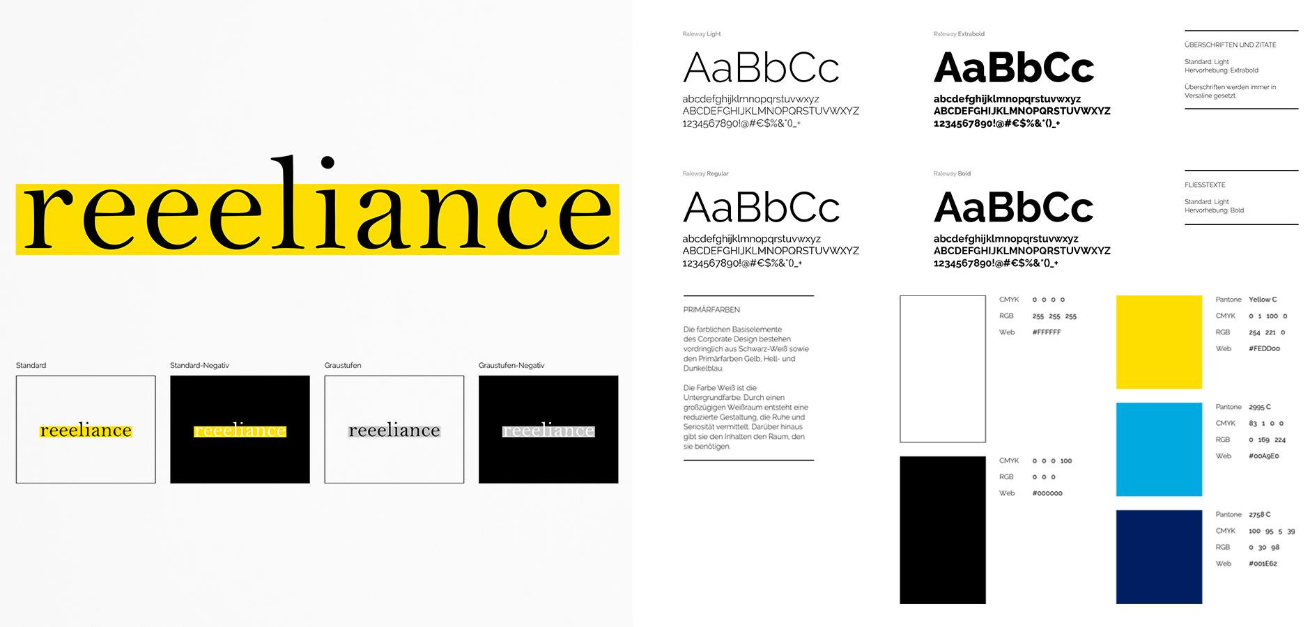 Reeeliance Brand Building Corporate Design