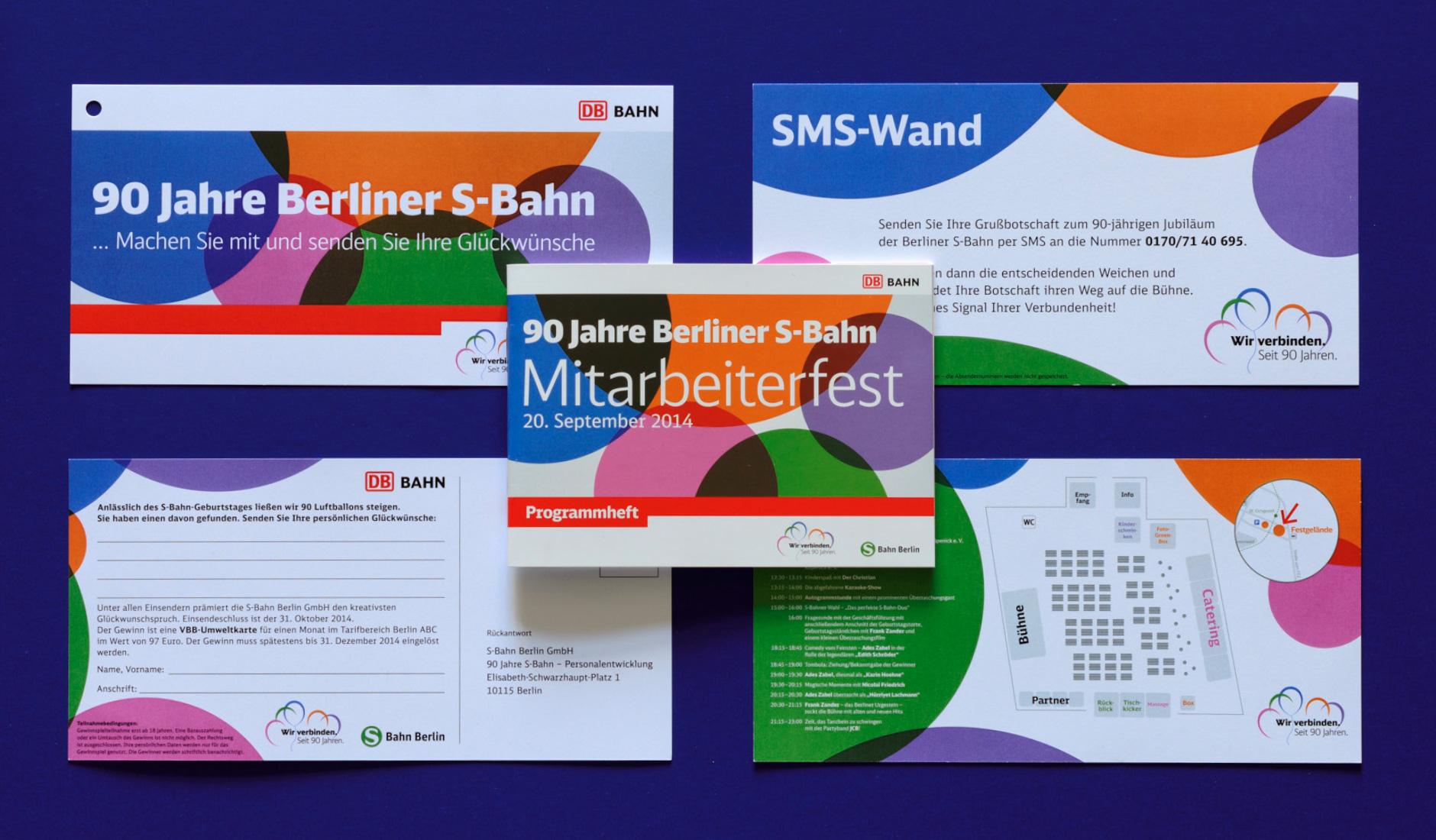 S-Bahn Berlin GmbH - Entwicklung Keyvisual & Event Branding