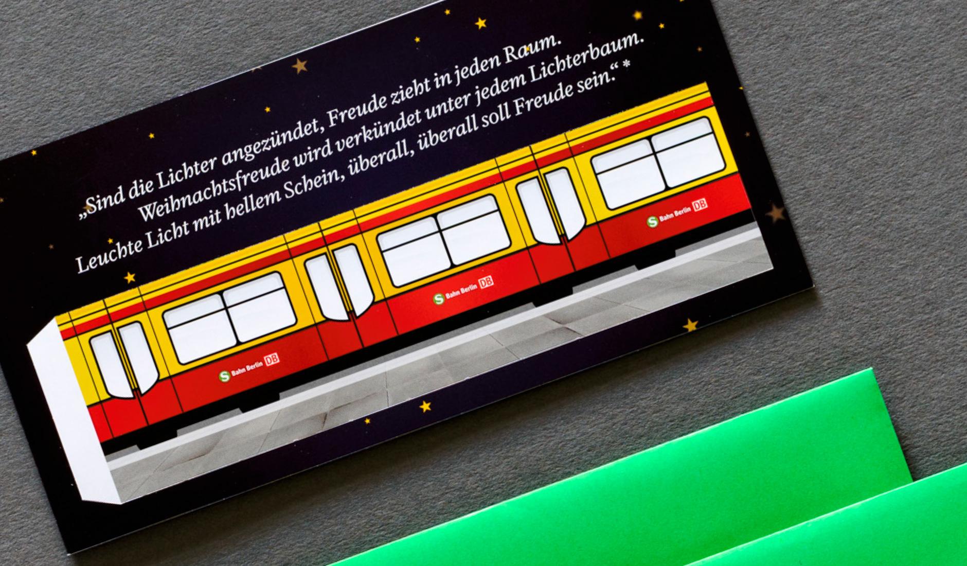 S-Bahn Berlin GmbH - Weihnachtsmailing